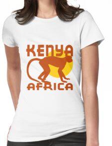 KENYA, AFRICA Womens Fitted T-Shirt