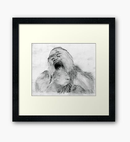 Fierce Vegetarians Framed Print