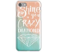Shine on you crazy diamond - Watercolor iPhone Case/Skin