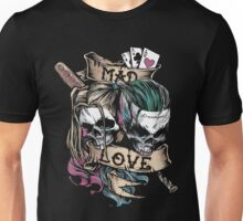 Harley Joker Skulls Mad Love Unisex T-Shirt