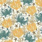 Aquatic Pattern - Endless Summer by BelleFlores