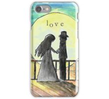 Love by the Moon iPhone Case/Skin