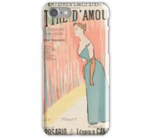 Sheet music Lettre d'amour by Paul Rosario and Léopold Gangloff, performed by Camille Stéfani Henri Gabriel Ibes iPhone Case/Skin