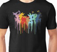 Eeveelutions paint Drip Unisex T-Shirt
