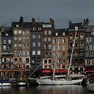 Moody Honfleur by Janice Heppenstall