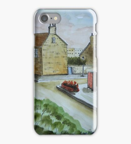 Old Stone Buildings - Scotland iPhone Case/Skin