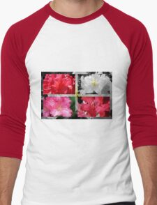 Love Rhododendrons Men's Baseball ¾ T-Shirt
