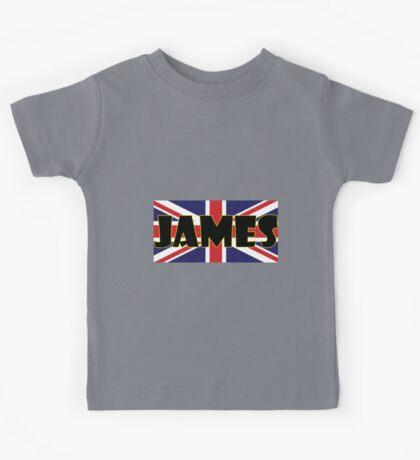 James (UK) Kids Tee