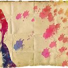 Eddie Redmayne Watercolours  by lloydj3