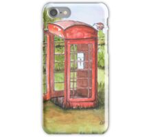 Forgotten Phone Booth iPhone Case/Skin