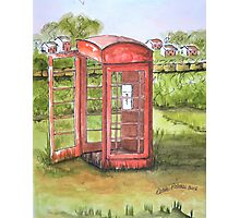Forgotten Phone Booth Photographic Print