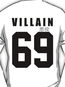 VILLAIN 69 White T-Shirt T-Shirt