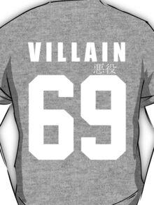 VILLAIN 69 Black T-Shirt T-Shirt