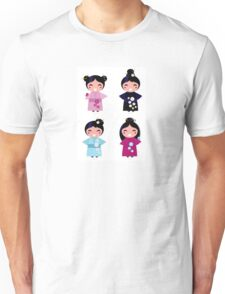 Little japan girls collection : Geisha original Designers Collection Unisex T-Shirt