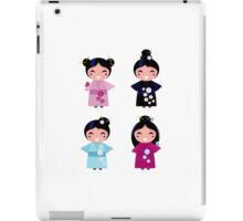 Little japan girls collection : Geisha original Designers Collection iPad Case/Skin