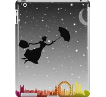 magical mary poppins Over London iPad Case/Skin