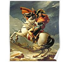 Jacques-Louis David - Napoleon Crossing The Alps  Poster