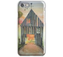 Sunset Barn iPhone Case/Skin