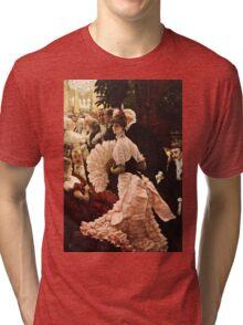 James Tissot - Political Woman  Tri-blend T-Shirt