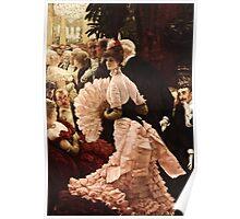 James Tissot - Political Woman  Poster