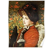James Tissot - Type Of Beauty  Poster