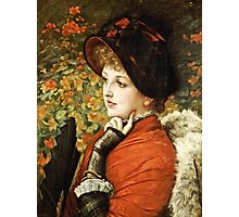 James Tissot - Type Of Beauty  Photographic Print