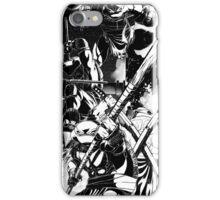 TMNT B/W iPhone Case/Skin
