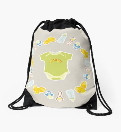 Items for newborns Drawstring Bag