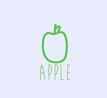 Apple. by godtomanydevils
