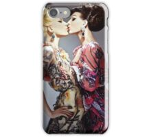 Miss fame & violet chachki iPhone Case/Skin