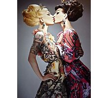 Miss fame & violet chachki Photographic Print
