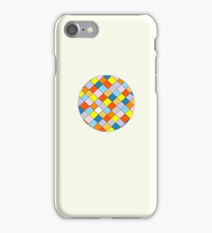 Coloured Squares. iPhone Case/Skin