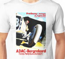 """FREIBURG GRAND PRIX"" Vintage Auto Racing Print Unisex T-Shirt"