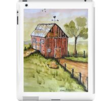 Countryside Old Red Barn iPad Case/Skin