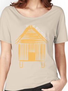 Off To My Menstrual Hut Women's Relaxed Fit T-Shirt