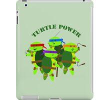Turtle Power TMNT iPad Case/Skin