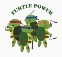 Turtle Power TMNT by KraziKris
