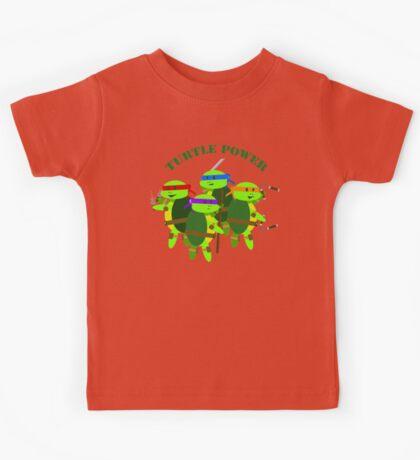 Turtle Power TMNT Kids Tee