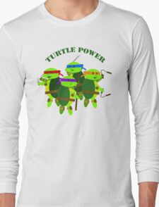 Turtle Power TMNT Long Sleeve T-Shirt