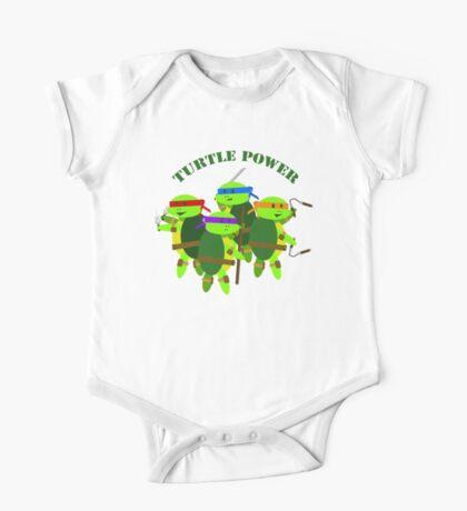 Turtle Power TMNT One Piece - Short Sleeve