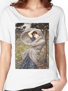John William Waterhouse - Boreas  Women's Relaxed Fit T-Shirt