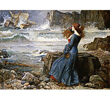 John William Waterhouse - Miranda - The Tempest  Photographic Print
