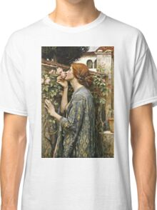 John William Waterhouse - The Soul Of The Rose  Classic T-Shirt
