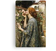 John William Waterhouse - The Soul Of The Rose  Canvas Print
