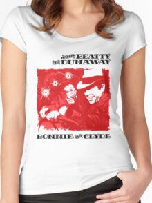 BONNIE AND CLYDE Women's Fitted Scoop T-Shirt