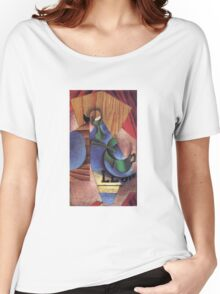 Juan Gris - Glass Cup And Newspaper 1913 Women's Relaxed Fit T-Shirt