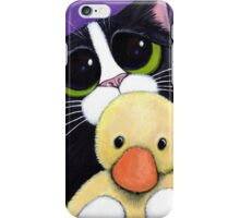 I'm Scared. Can I Sleep With You? iPhone Case/Skin