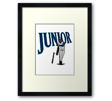 "Seattle - ""Junior"" Framed Print"