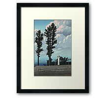 Kawase Hasui - Kanda Myojin Shrine After The Earthquake Fire Framed Print