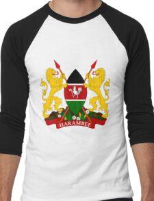 KENYA-COA Men's Baseball ¾ T-Shirt